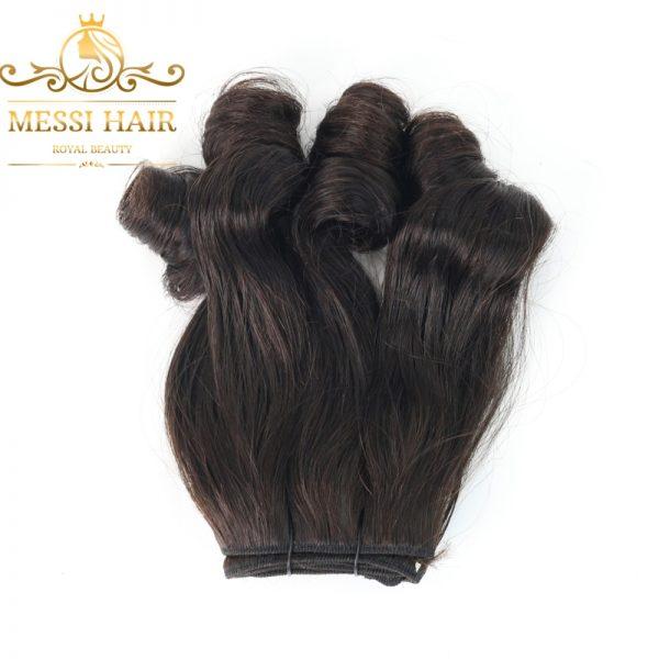bouncy-black-machine-weft-hair