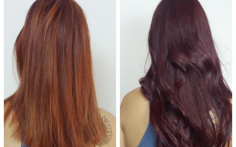 hair-before-and-after-diy-dye-hair