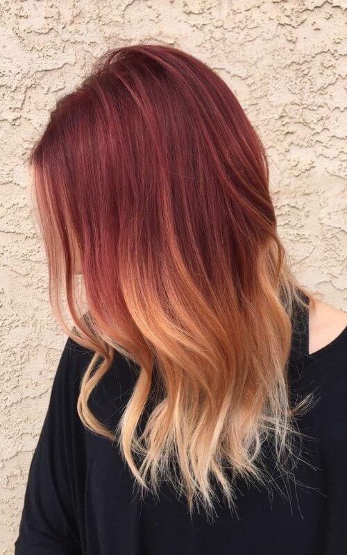 reddish-blonde-ombre