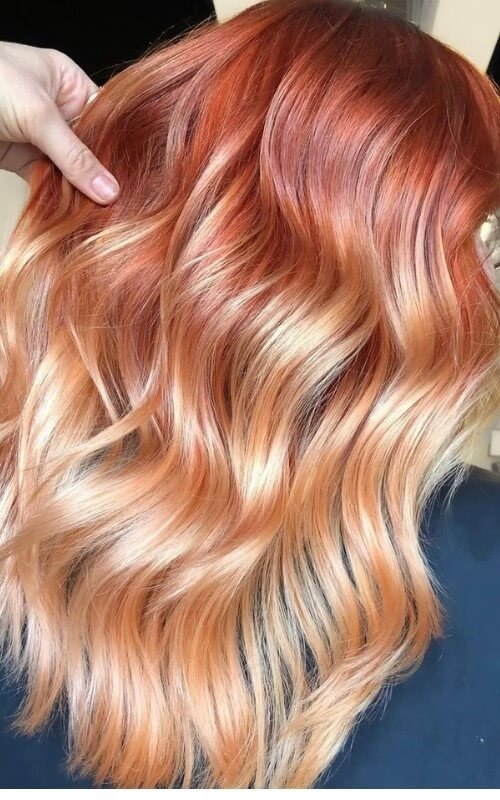 strawberry-blonde-ombre