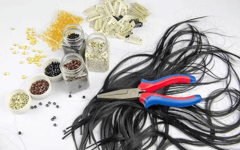 hair-extend-with-a-lead-clip