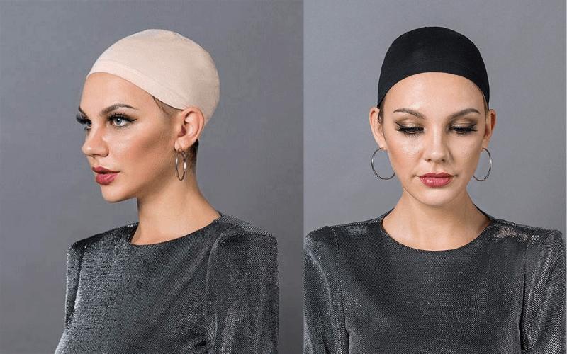 wearing-wig-cap