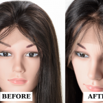 How to pluck a lace frontal wig by yourself