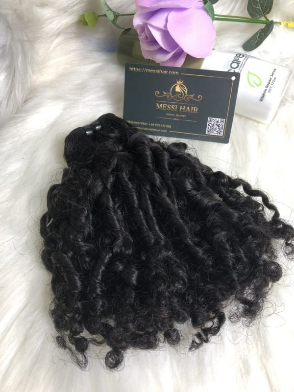 small-curl-weft-hair